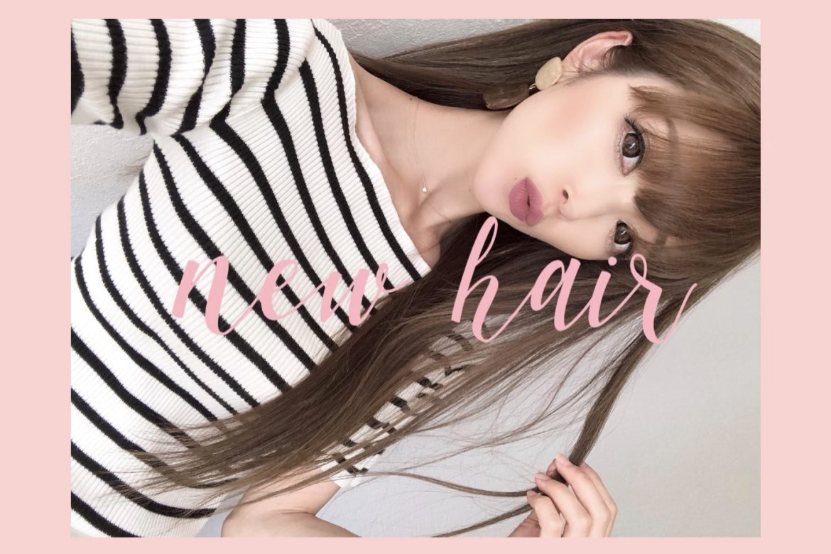 (🆕)new color💇‍♀️<br>#お気に入りヘアケア🍒<br>(👗)COORDINATE🍍🧡