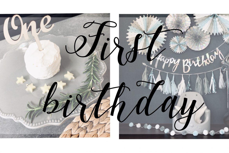 (🎂)1歳birthday<br>#おもしろ離乳食🤣🍳<br>#手作りケーキ👶🍌<br>#一升餅もやったよ💙