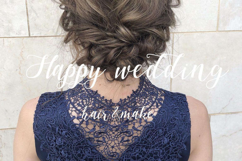 (💐)WEDDING <br>PARTY🥂💕<br>#素敵すぎる1日✨<br>#お呼ばれドレス問題👗<br>#ヘアセットも💇♀️🎗