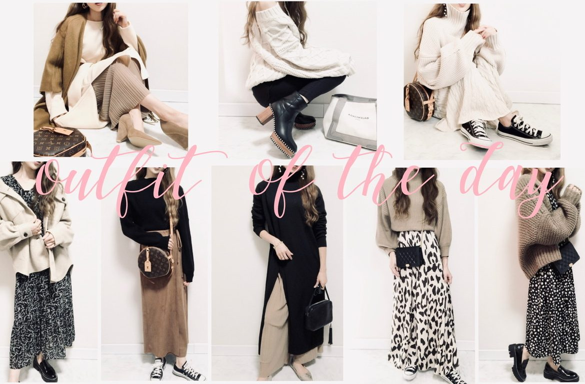 (👠)COORDINATE<br>まとめました🤳❄️<br>19style詳細付き👯♀️🖤